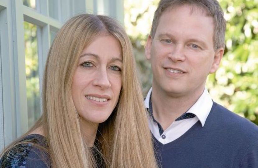 Belinda and Grant at home
